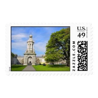 Trinity College in Dublin Postage