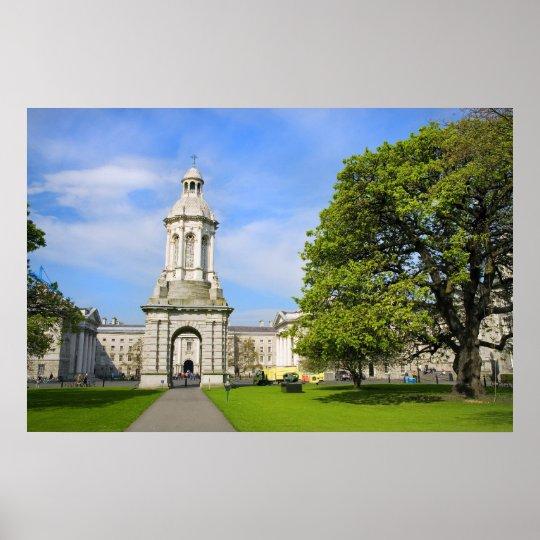 Trinity College in Dublin Poster