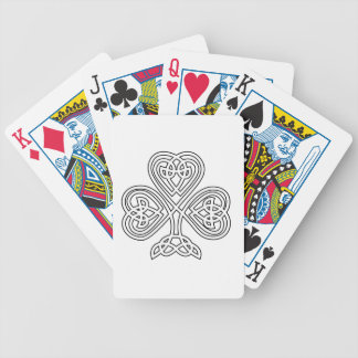 Trinity Design Shamrock Bicycle Playing Cards