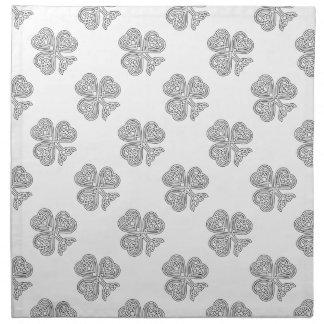 Trinity Design Shamrock Cloth Napkin