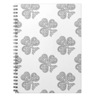 Trinity Design Shamrock Notebook