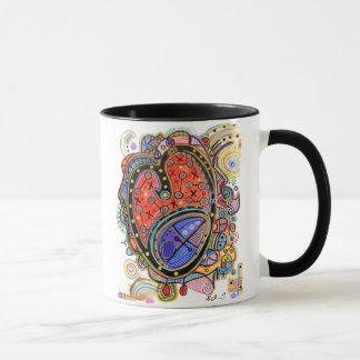 Trinity Heart Abstract Mug