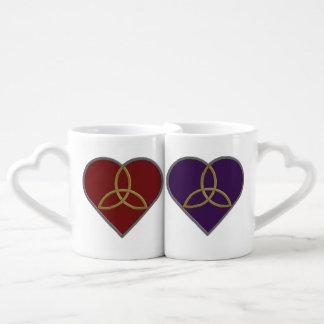 Trinity Hearts Lovers' Mugs