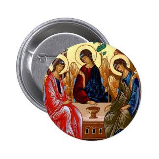 Trinity Icon Pinback Button