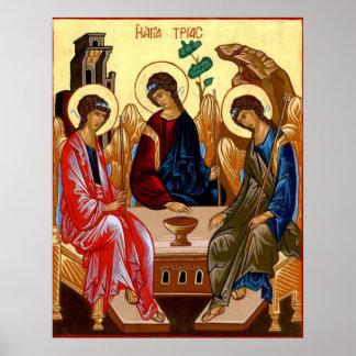 Trinity Icon Poster
