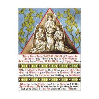 Trinity In Unity Canvas Print