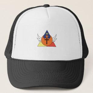 Trinity - King - Phoenix - Cross Trucker Hat cd78fd3ef322