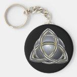 Trinity Knot 2 Keychain