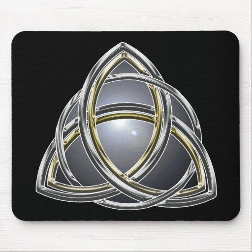 Trinity Knot 2 Mousepad