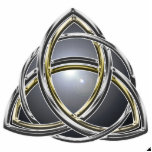 Trinity Knot 2 Pin Acrylic Cut Out