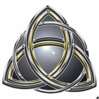 Trinity Knot 2 Pin Cutout