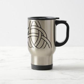 trinity knot celtic saxon viking norse nordic travel mug