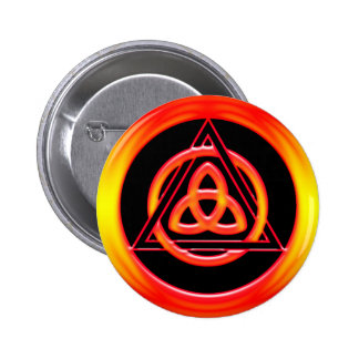 TRINITY KNOT INTERLACED TRIANGLE BUTTON