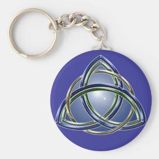 Trinity Knot Keychain
