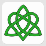 Trinity Knot Square Sticker