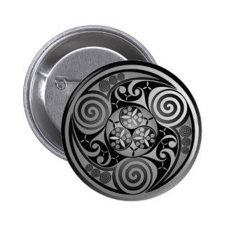 Trinity Liath 2 Inch Round Button
