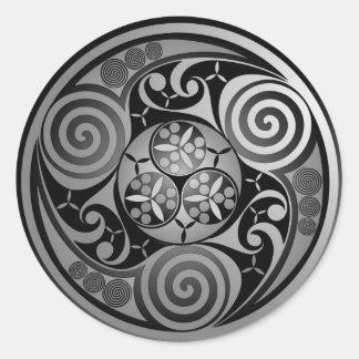 Trinity Liath Round Sticker