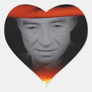 Trinity Robert Oppenheimer Heart Sticker