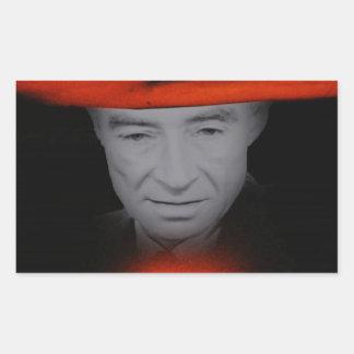 Trinity Robert Oppenheimer Rectangular Sticker