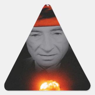 Trinity Robert Oppenheimer Triangle Sticker