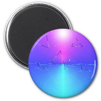 Trinity Round Magnet