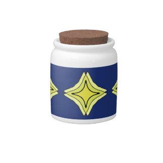 Trinity Star Candy Jars