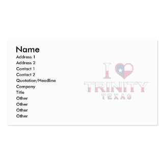 Trinity, Texas Double-Sided Standard Business Cards (Pack Of 100)