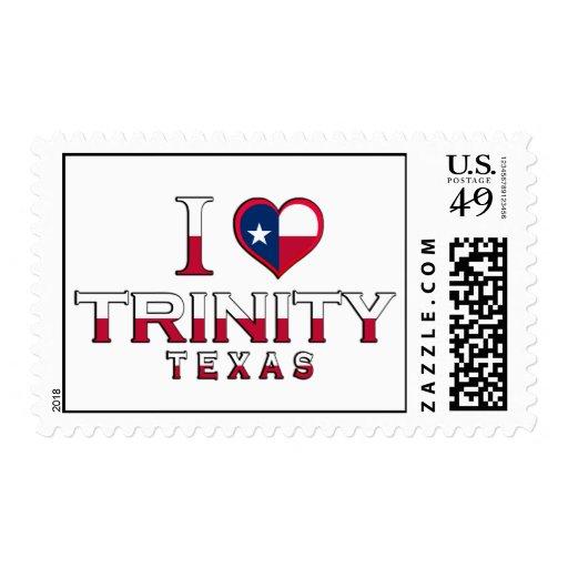 Trinity, Texas Stamp