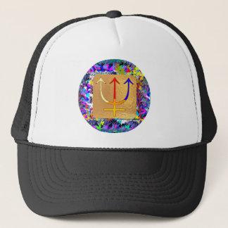 TRINITY Trident Trisul Trucker Hat