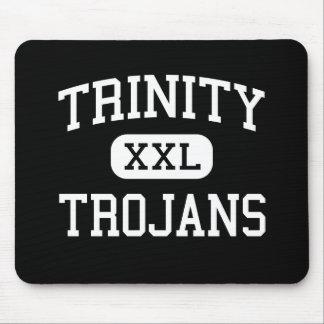 Trinity - Trojans - High School - Euless Texas Mouse Pad