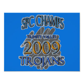 Trinity Valley 2009 SPC CHAMPIONS - Fort Worth, TX Card