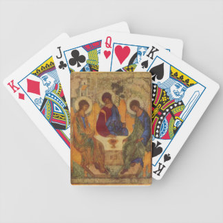 Trinity with Angel Wings Bicycle Playing Cards