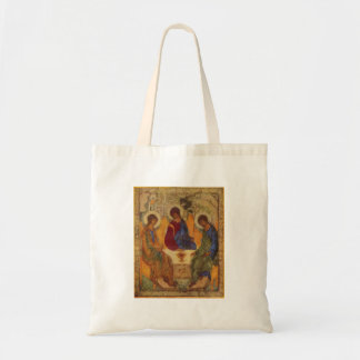 Trinity with Angel Wings Tote Bag
