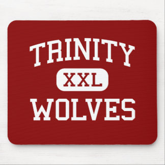 Trinity - Wolves - High - Weaverville California Mouse Pad