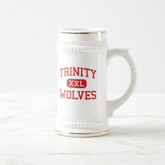 Trinity - Wolves - High - Weaverville California 18 Oz Beer Stein
