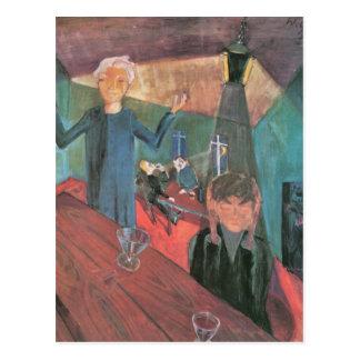 Trinker by Walter Gramatte Postcard