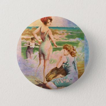 TRIO AT THE BEACH BUTTON