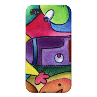 Trio by Lee Vandergrift iPhone 4 cover