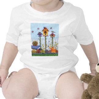 Trío de Birdhouses Trajes De Bebé