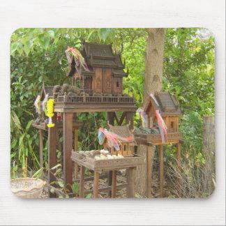 Trío de Birdhouses Tapetes De Ratones