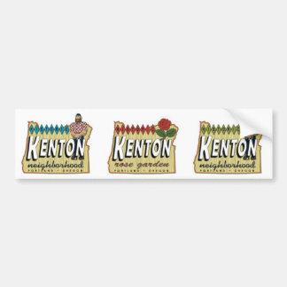 Trío de Kenton Bumpersticker Pegatina Para Auto