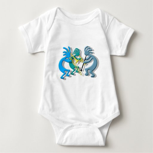 Trío de Kokopelli Body Para Bebé