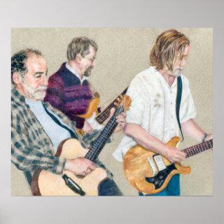 Trío de la guitarra póster