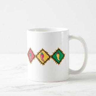 Trío de la pimienta taza de café