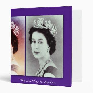 "Trío de la reina Elizabeth II Carpeta 1"""