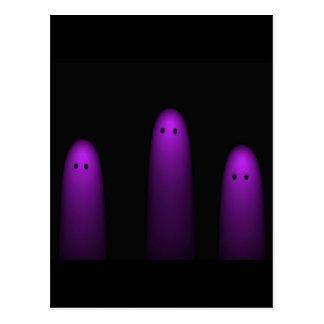 Trío de los fantasmas (Fuschia) Postales