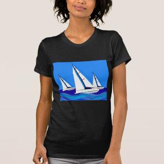 Trío de veleros camiseta