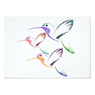 Trío del colibrí del remiendo comunicados personales