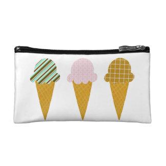 Trío del cono de helado