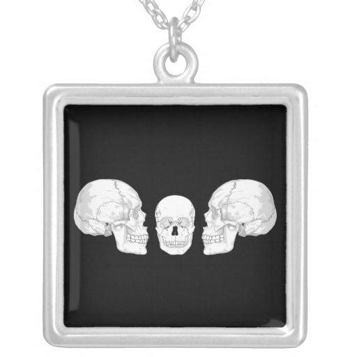 Trío del cráneo joyerias personalizadas